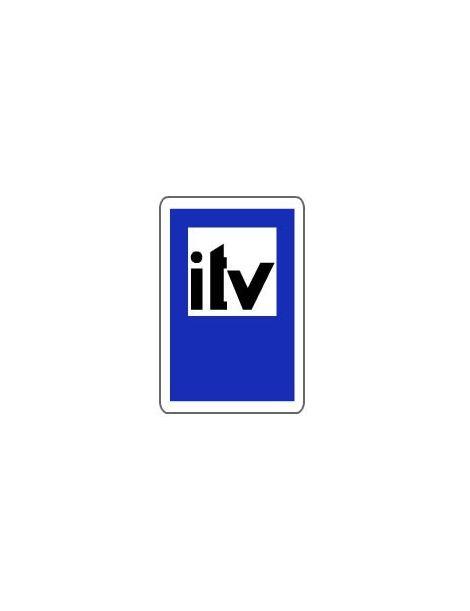 Señal Servicio de Inspección Tecnica de Vehículos