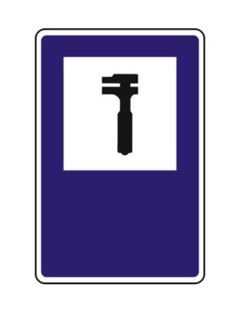 Señal Taller de Reparación de Vehículos