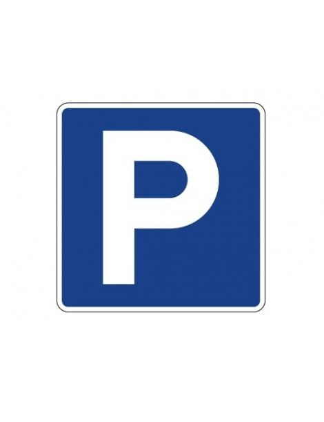 Señal P Parking