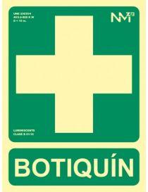 Señal de Botiquin