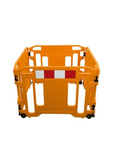 Barrera de Seguridad con Ruedas