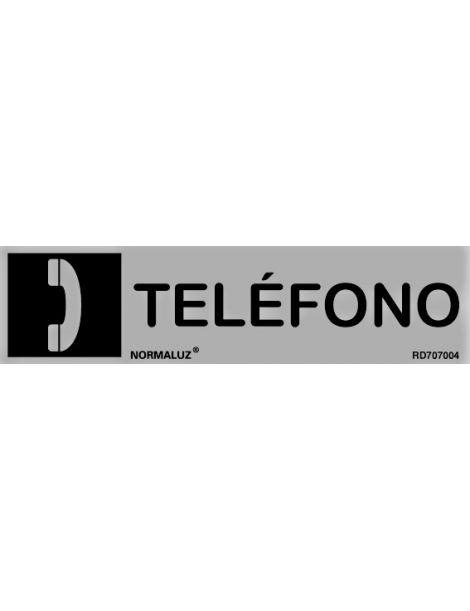 Placa informativa Teléfono