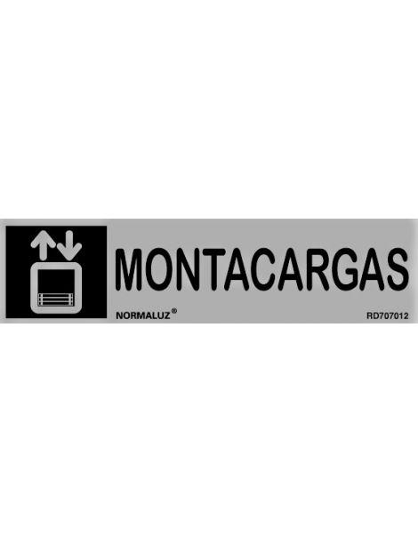 Placa Informativa Montacargas