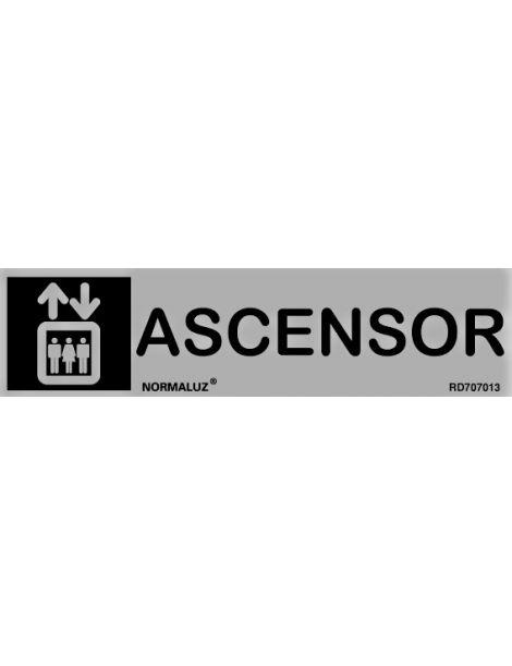 Placa Informativa Ascensor
