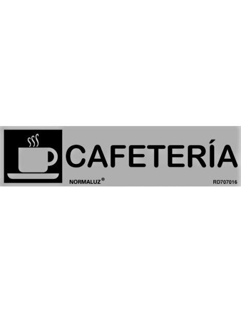 Placa Informativa Cafetería