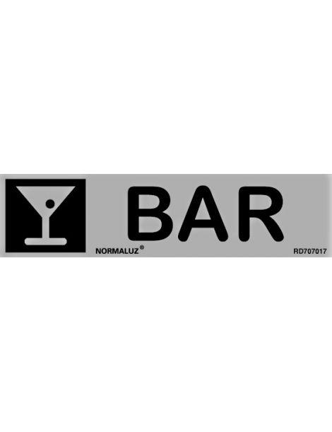 Placa Informativa Bar