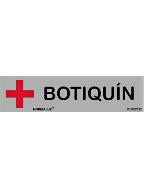 Placa Informativa Botiquín