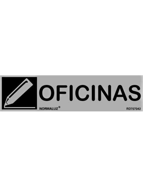 Placa Informativa Oficinas