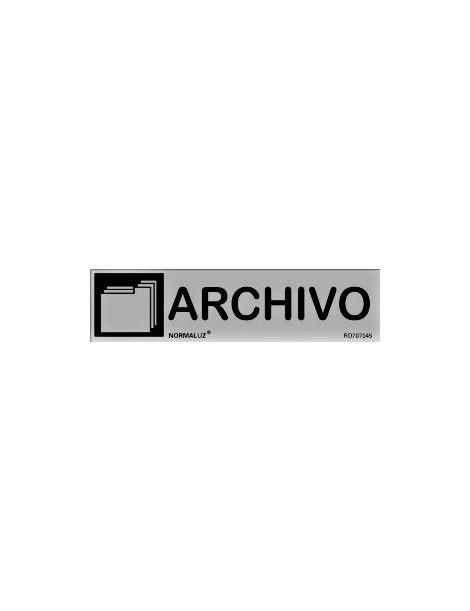 Placa Informativa Archivo