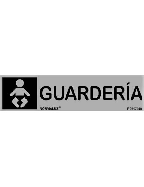 Placa Informativa Guardería