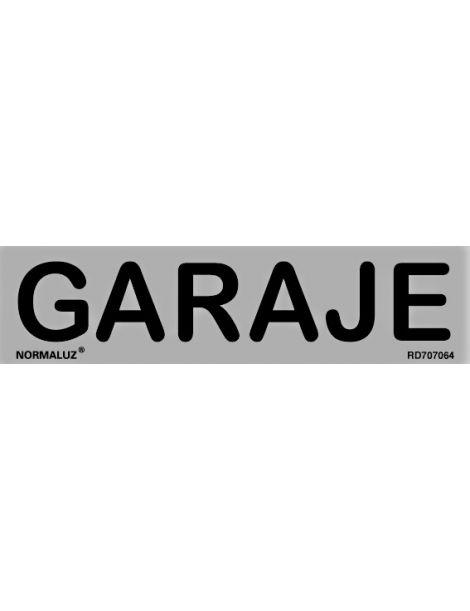 Placa Informativa Garaje
