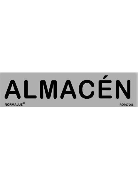 Placa Informativa Almacén