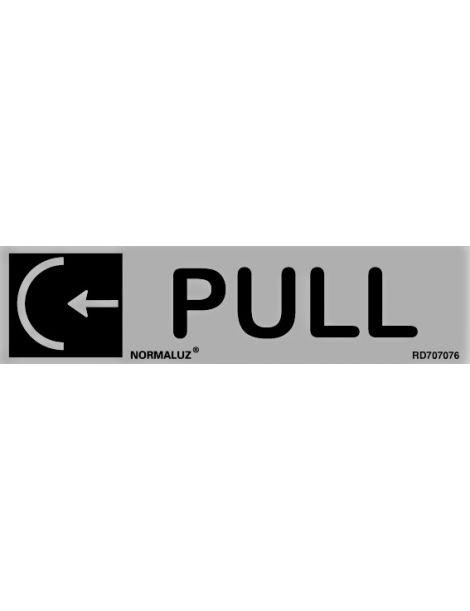 Placa Informativa Pull