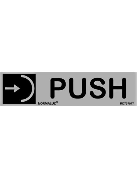Placa Informativa Push