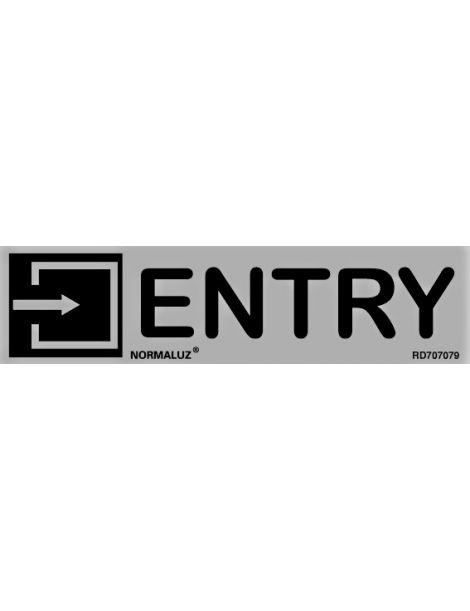 Placa Informativa Entry