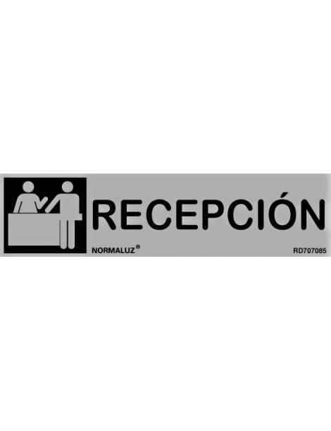 Placa Informativa Recepción
