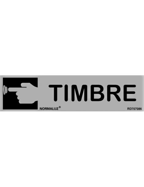 Placa Informativa Timbre