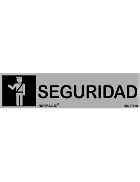 Placa Informativa Seguridad