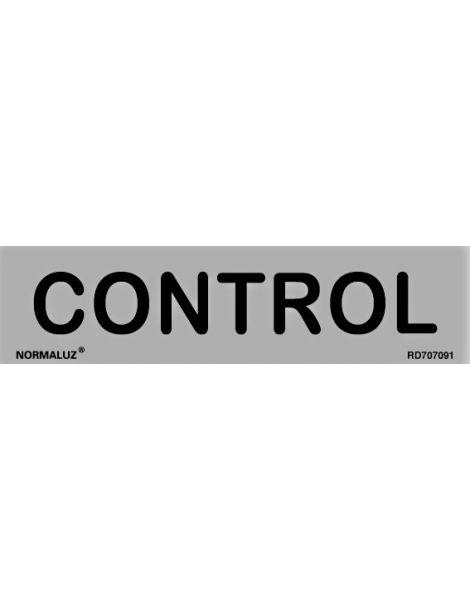 Placa Informativa Control