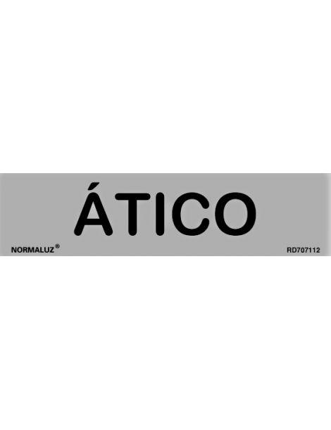 Placa Informativa Ático