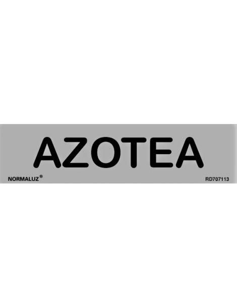 Placa Informativa Azotea