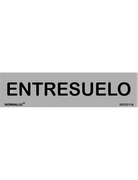 Placa Informativa Entresuelo