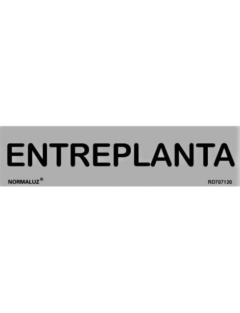 Placa Informativa Entreplanta