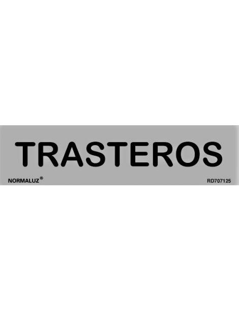 Placa Informativa Trasteros