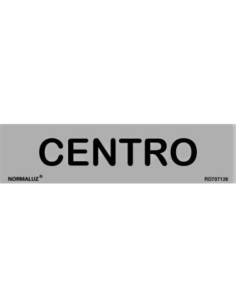 Placa Informativa Centro