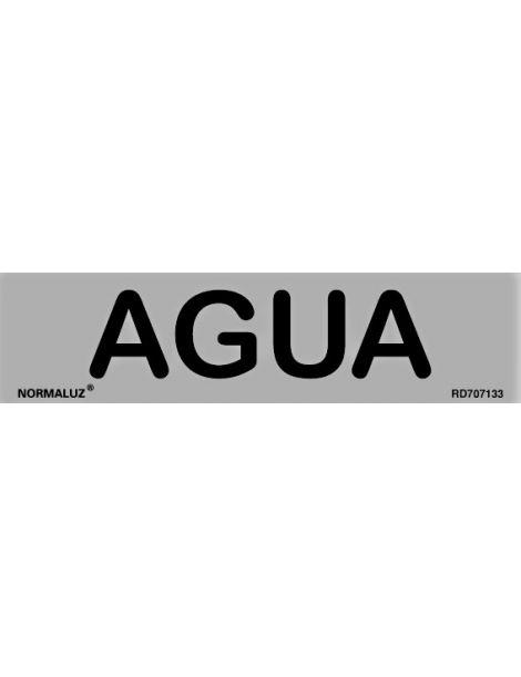 Placa Informativa Agua