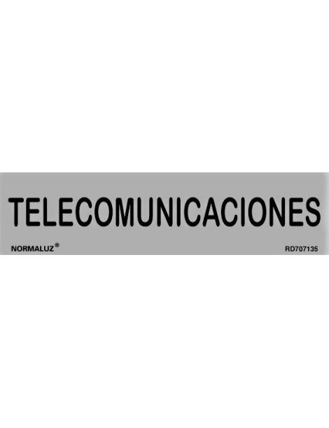 Placa Informativa Telecomunicaciones