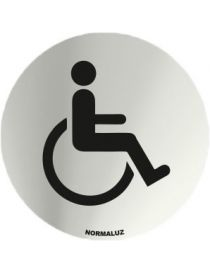 Placa Informativa Acceso Minusvalidos