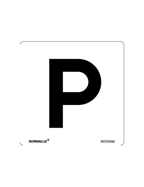 Placa Informativa Parking