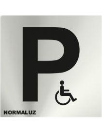 Placa Informativa Parking Minusvalidos