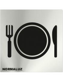 Placa Informativa Zona Restaurante