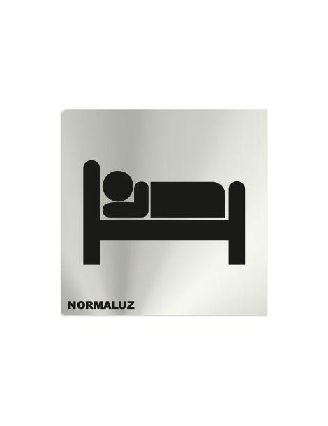 Placa Informativa Dormitorio