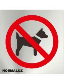 Placa Informativa Prohibido Perros