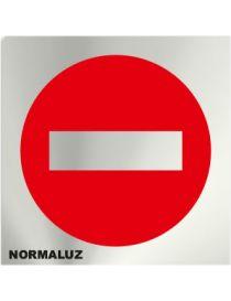 Placa Informativa Prohibido Pasar