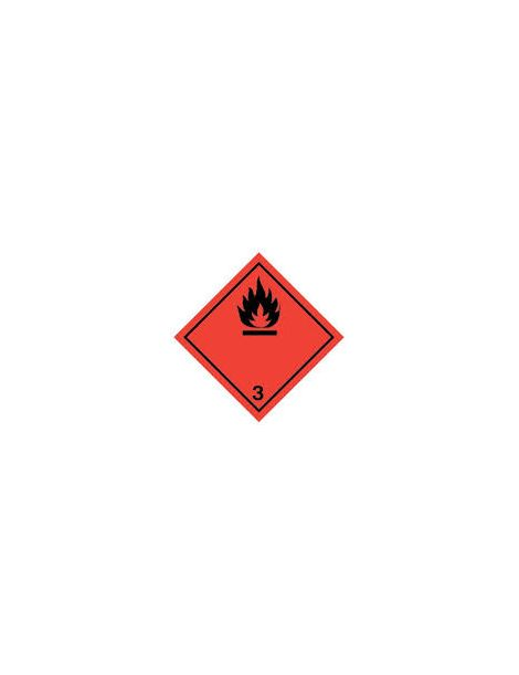 Etiqueta Líquidos Inflamables (Clase 3)