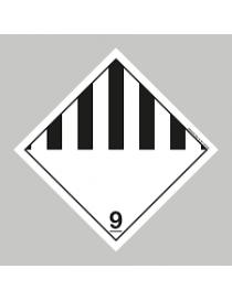 Etiqueta materias y objetos peligrosos diversos (Clase 9)
