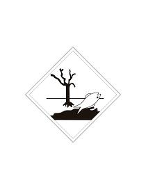 Etiqueta contaminante medioambiental