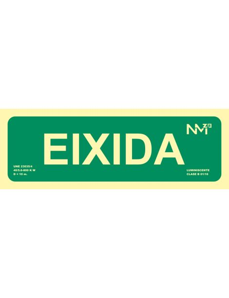 SEÑAL EIXIDA