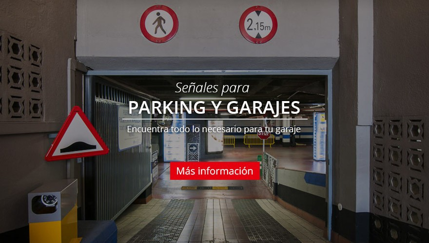 Señales para Parking y Garages